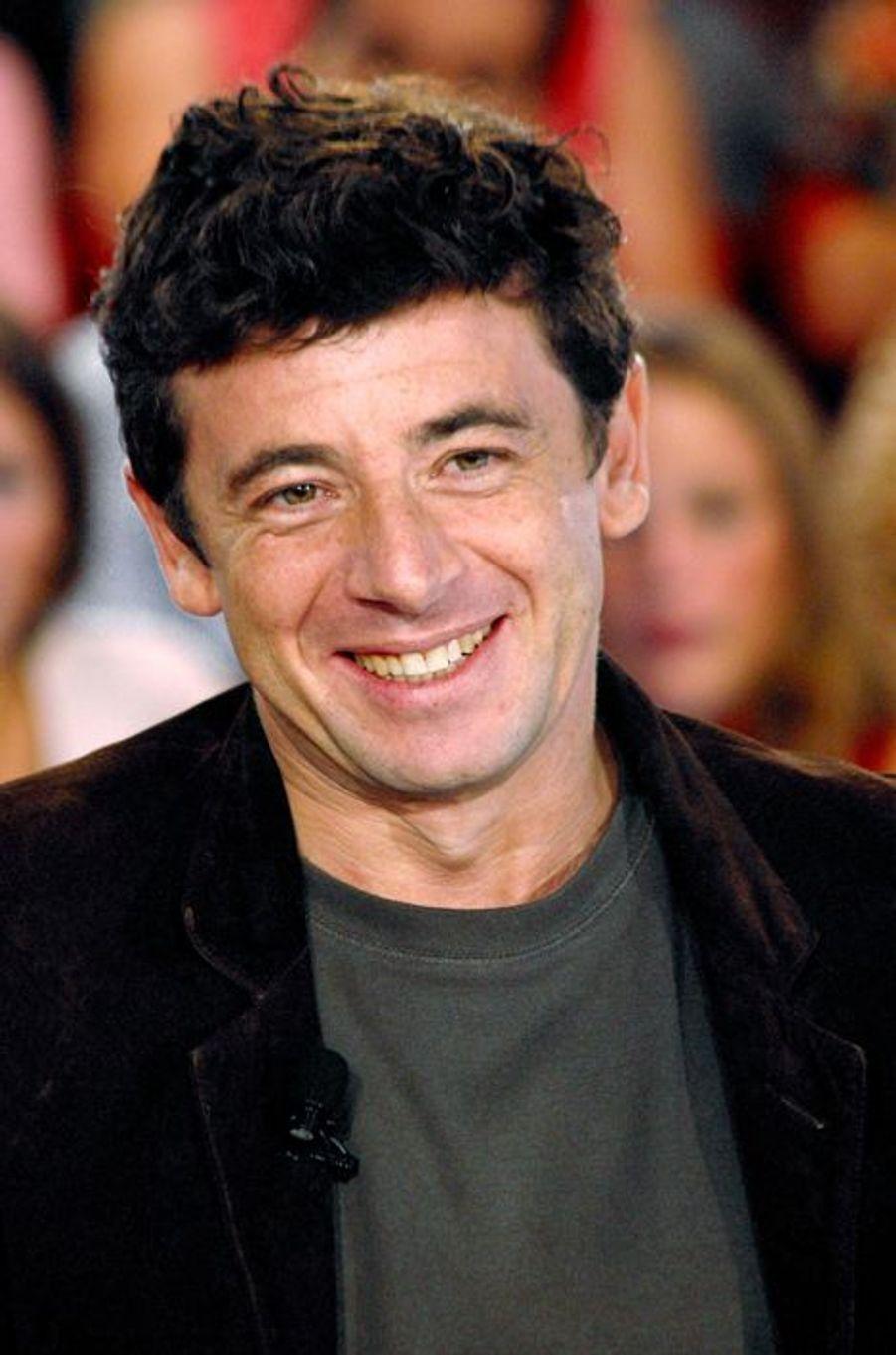 Patrick Bruel à Paris le 25 septembre 2002.