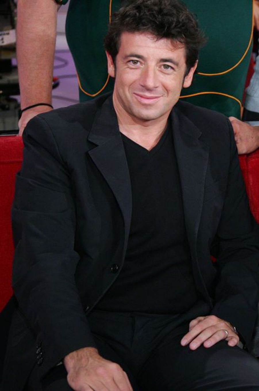 Patrick Bruel à Paris le 3 octobre 2007.