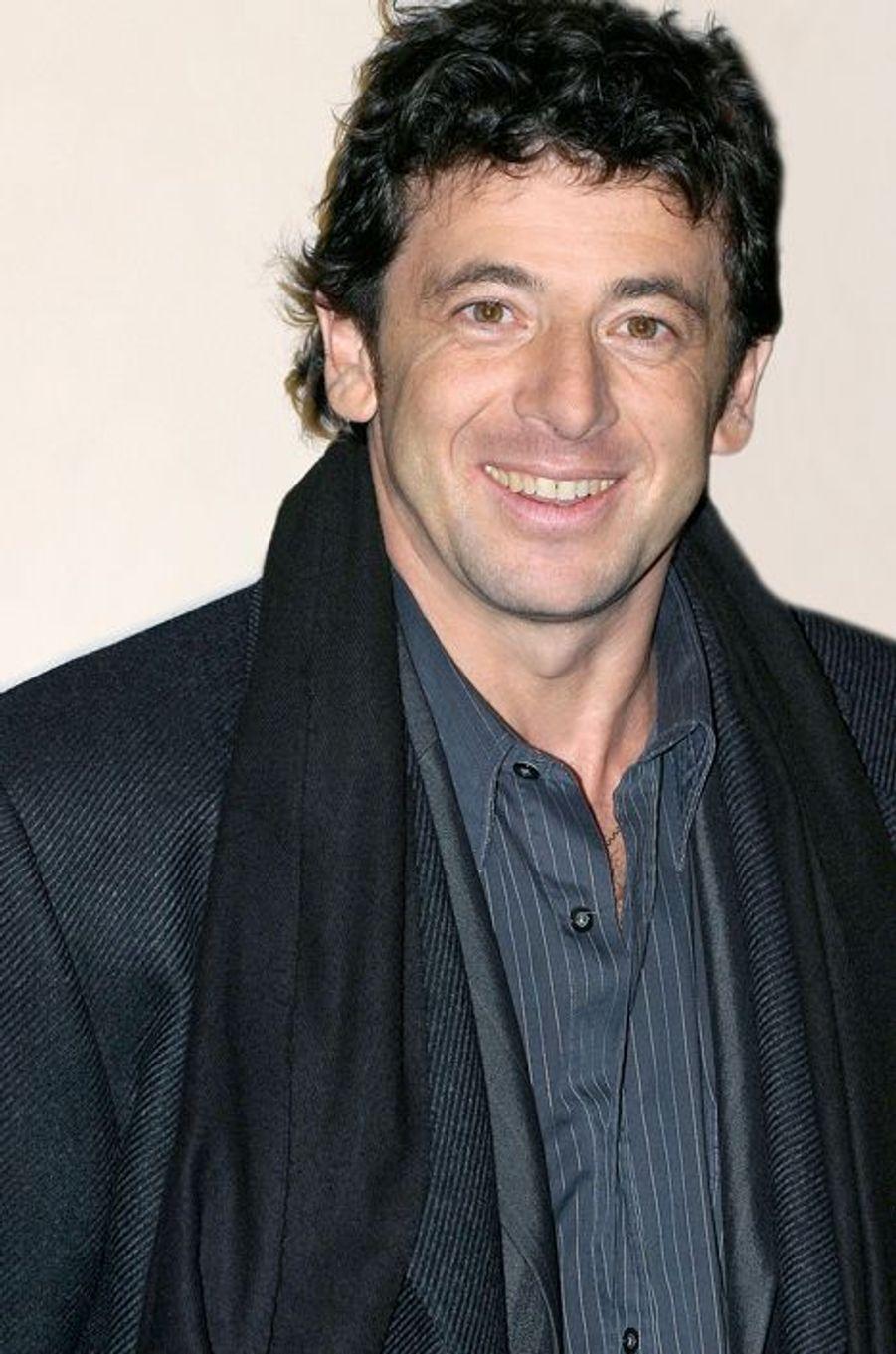 Patrick Bruel à Paris le 9 février 2004.