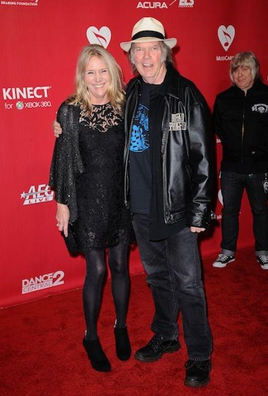 Pegi et Neil Young