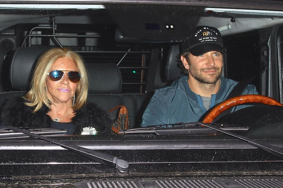 Bradley Cooper et sa mère Gloria Campano