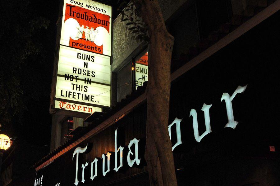 Le Troubadour, club mythique de West Hollywood
