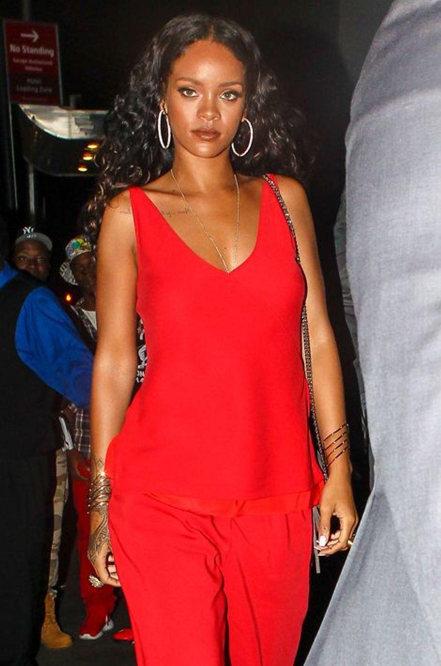 Rihanna à New York, le 7 septembre 2014.