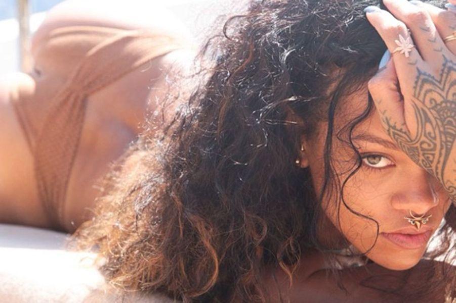 Photo de Rihanna publiée par son amie Melissa Forde, le 2 septembre 2014.