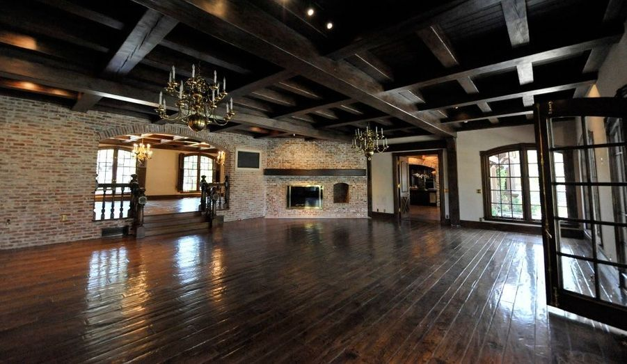 La pièce principale du ranch.