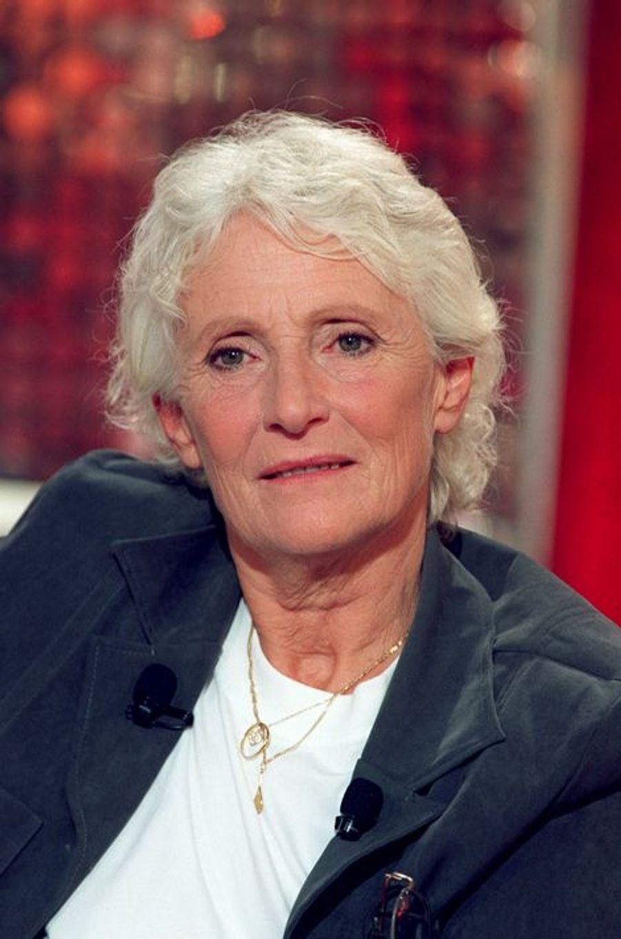 Marie-Claire Noah à Paris, le 17 septembre 2001.