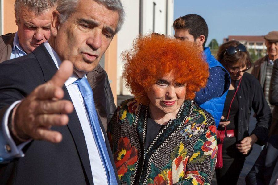 Yvette Horner à Tarbes, le 24 octobre 2014