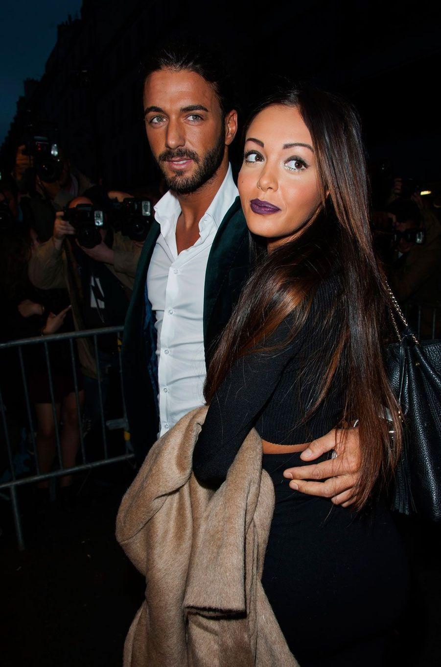 Nabilla et Thomas en 2014