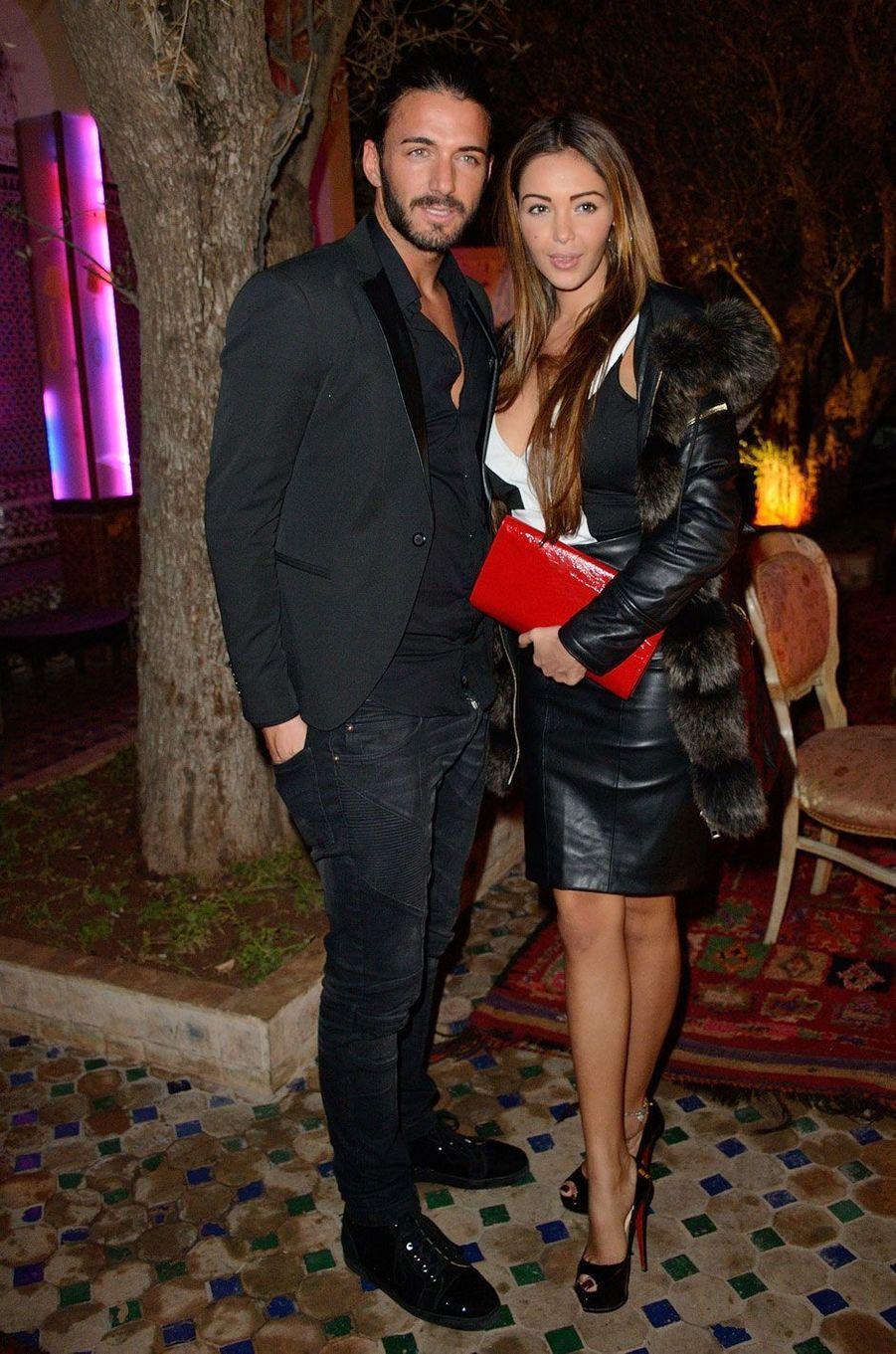 Nabilla et Thomas en 2013