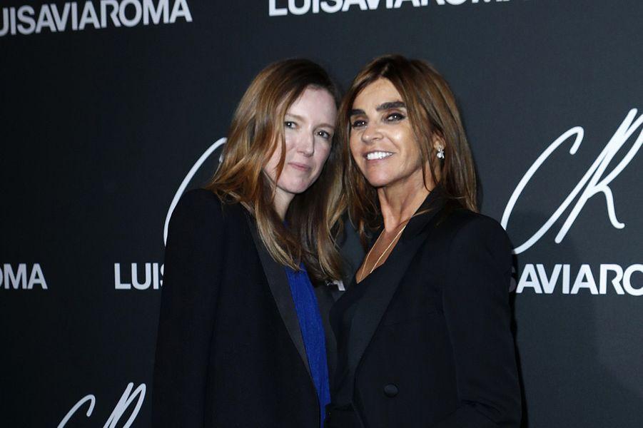 Clare Waight Keller et Carine Roitfeld
