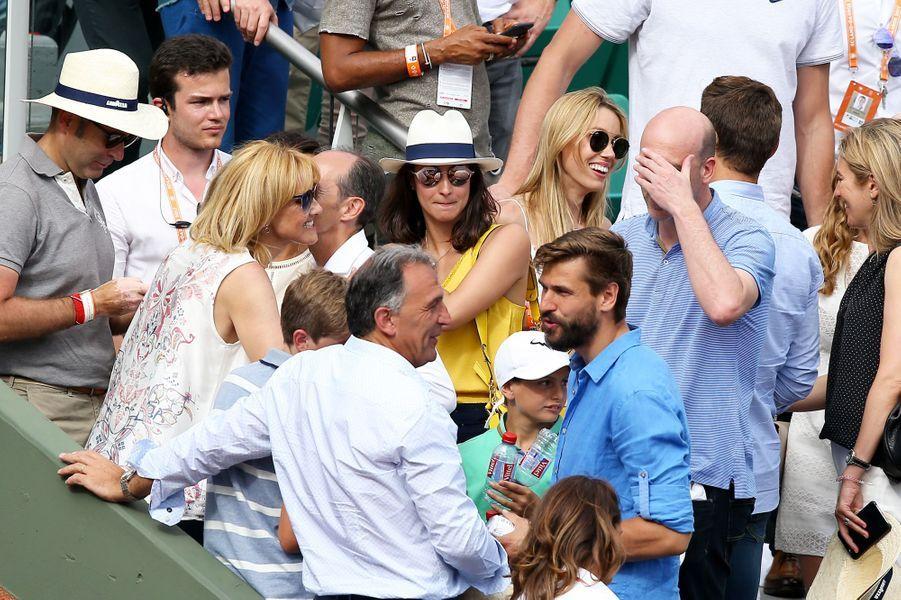 Maria Francisca Perello était présente pour la victoire de son compagnon Rafael Nadal.