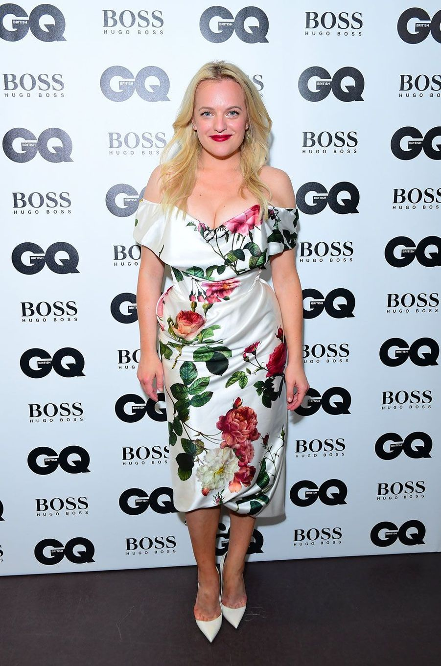 "Elisabeth Moss à la soirée ""GQ Men of the Year"", le 5 septembre 2018 à Londres"