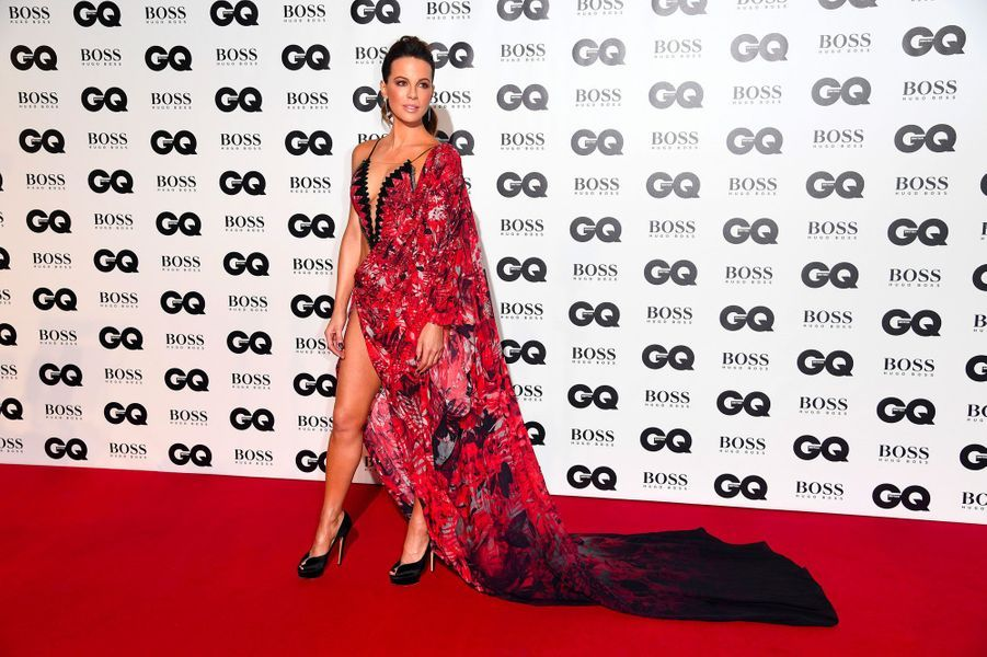"Kate Beckinsale à la soirée ""GQ Men of the Year"", le 5 septembre 2018 à Londres"