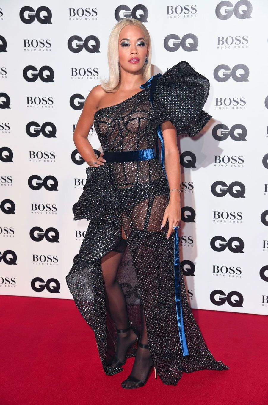 "Rita Ora à la soirée ""GQ Men of the Year"", le 5 septembre 2018 à Londres"