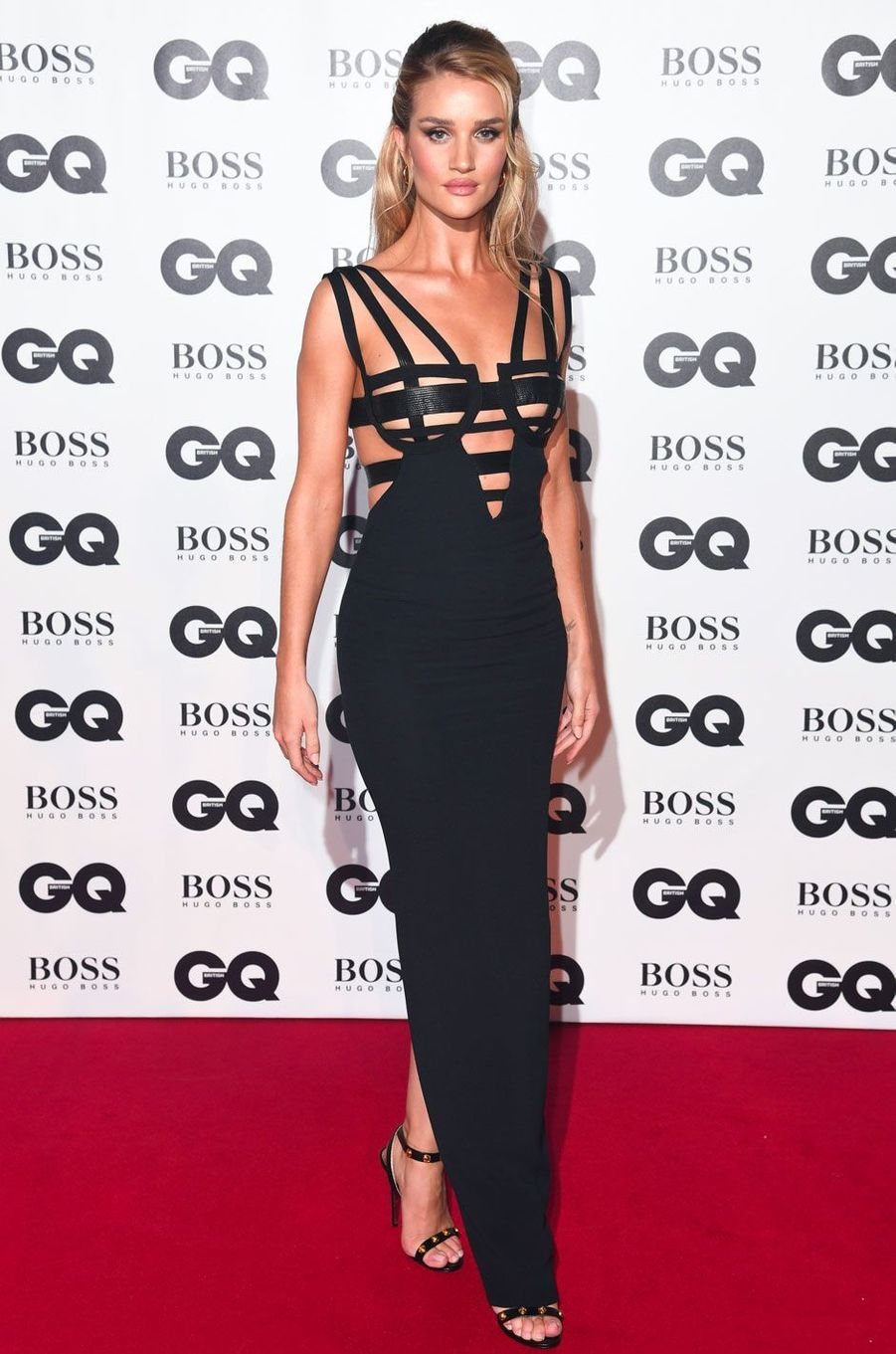 "Rosie Huntington-Whiteley à la soirée ""GQ Men of the Year"", le 5 septembre 2018 à Londres"