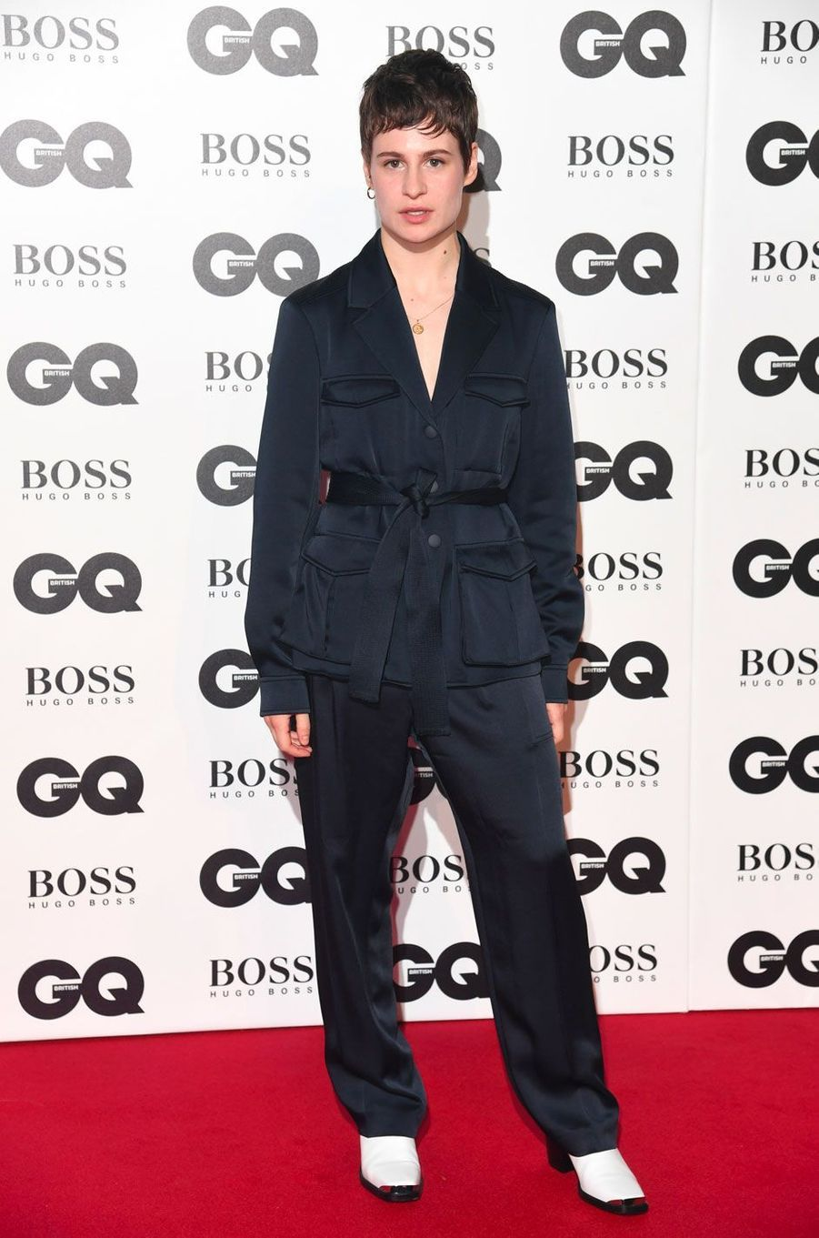 "Christine and the Queens à la soirée ""GQ Men of the Year"", le 5 septembre 2018 à Londres"