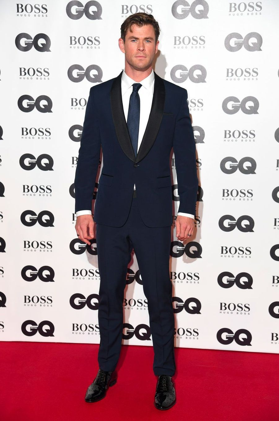 "Chris Hemsworth à la soirée ""GQ Men of the Year"", le 5 septembre 2018 à Londres"