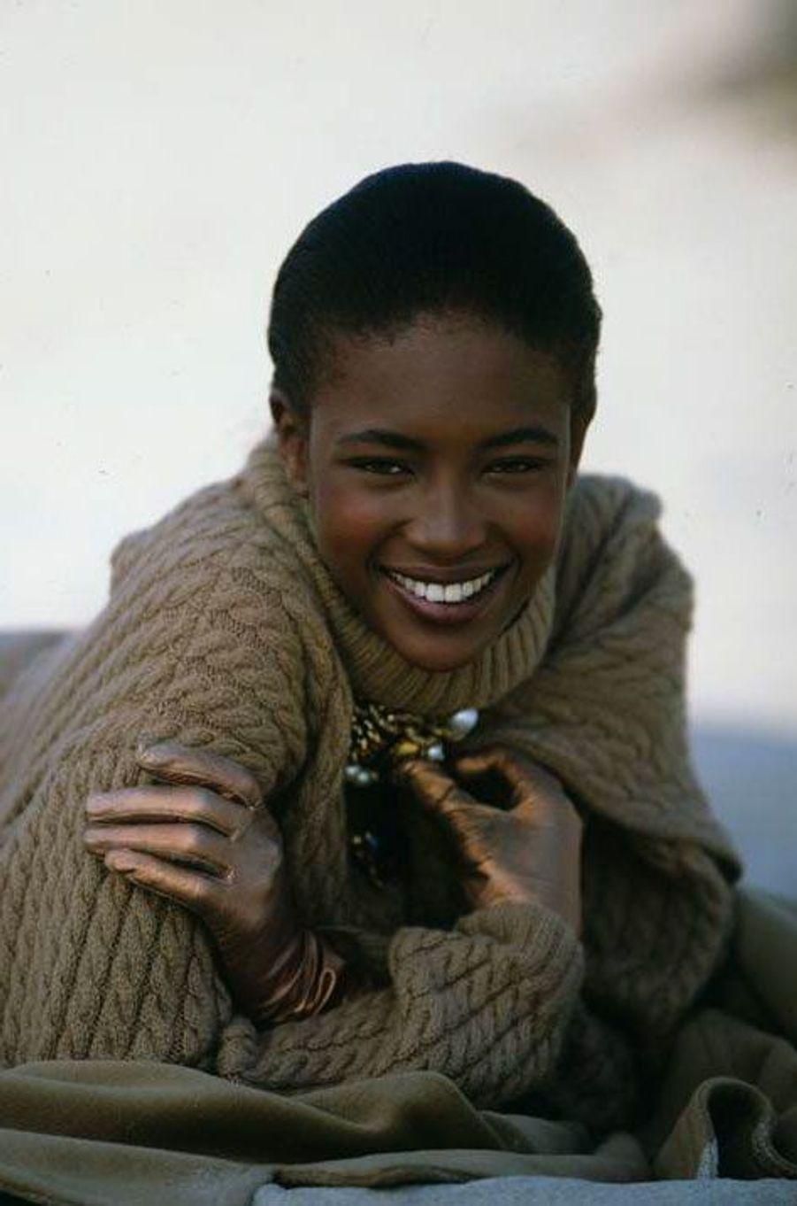 Naomi Campbell en 1989