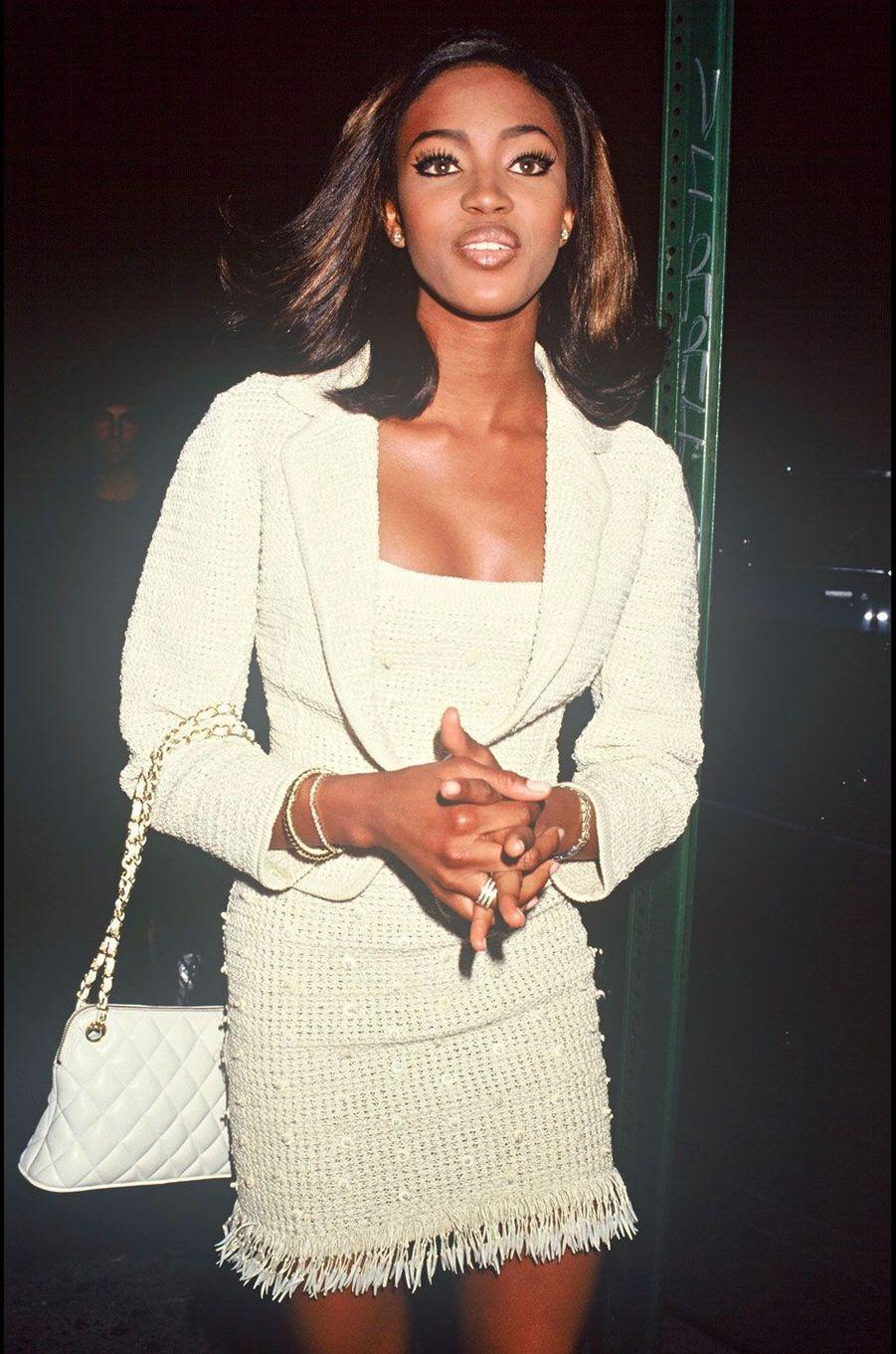 Naomi Campbell en 1990