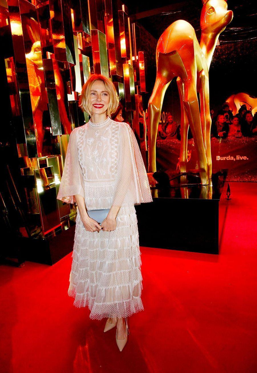 Naomi WattsNaomi Wattsà la soirée des Bambi Awards à Baden-Baden, en Allemagne, le 21 novembre 2019.