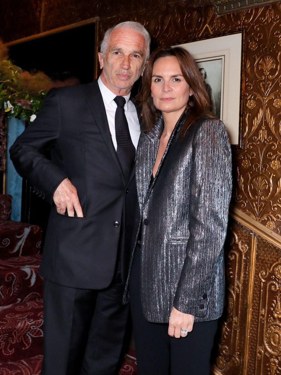 Alain Terzian et Brune de Margerie
