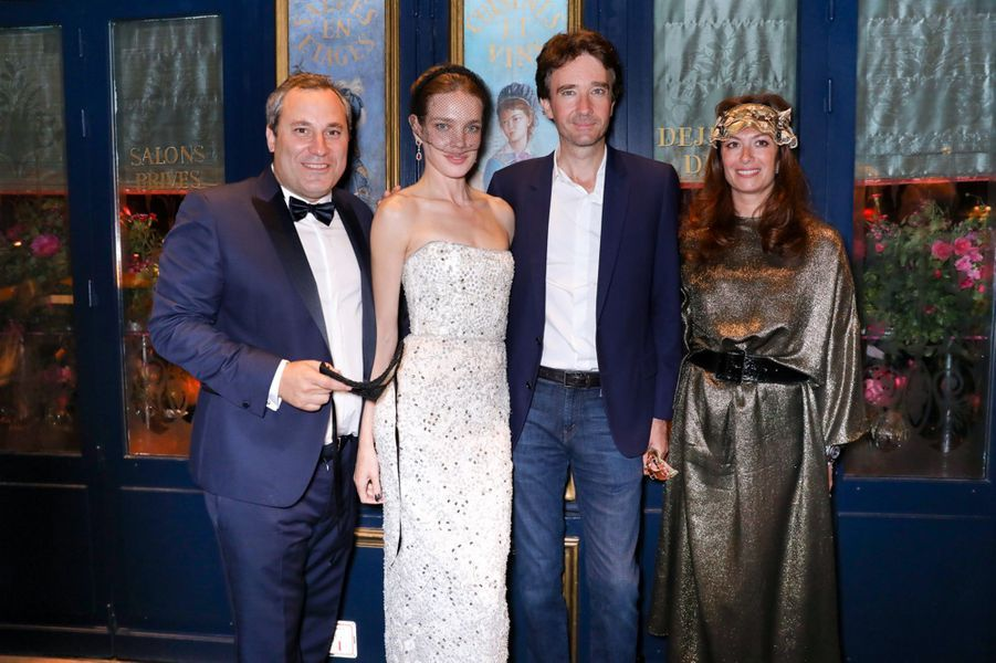 Benjamin Patou, Natalia Vodianova, Antoine Arnault et Cordelia De Castellane