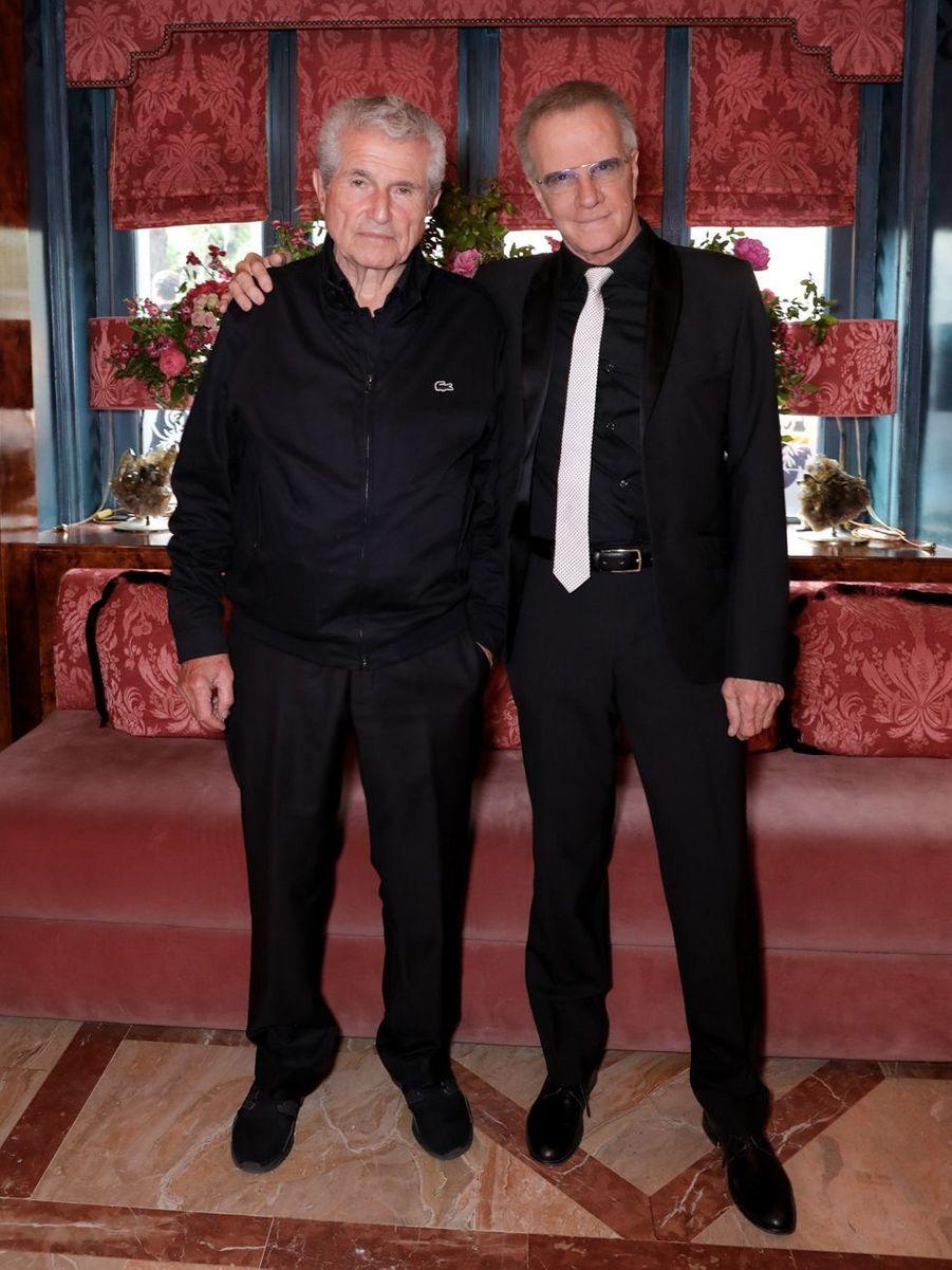 Claude Lelouch et Christophe Lambert