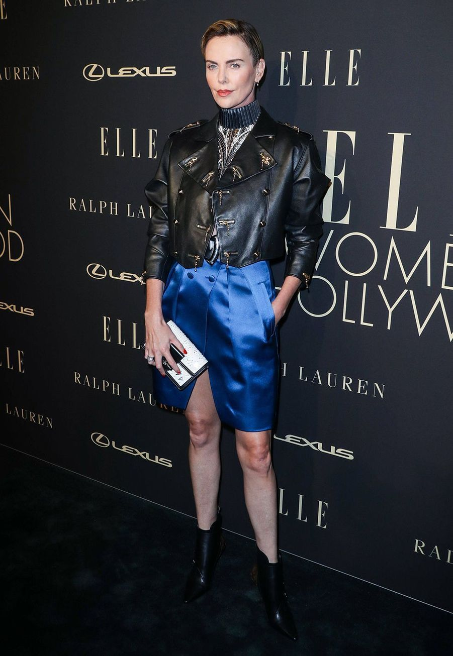 Charlize Theron à la soirée «Elle Women In Hollywood» à Beverly Hills le 14 octobre 2019
