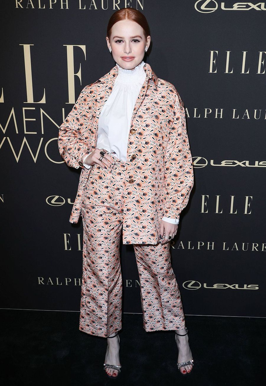 Madelaine Petsch à la soirée «Elle Women In Hollywood» à Beverly Hills le 14 octobre 2019