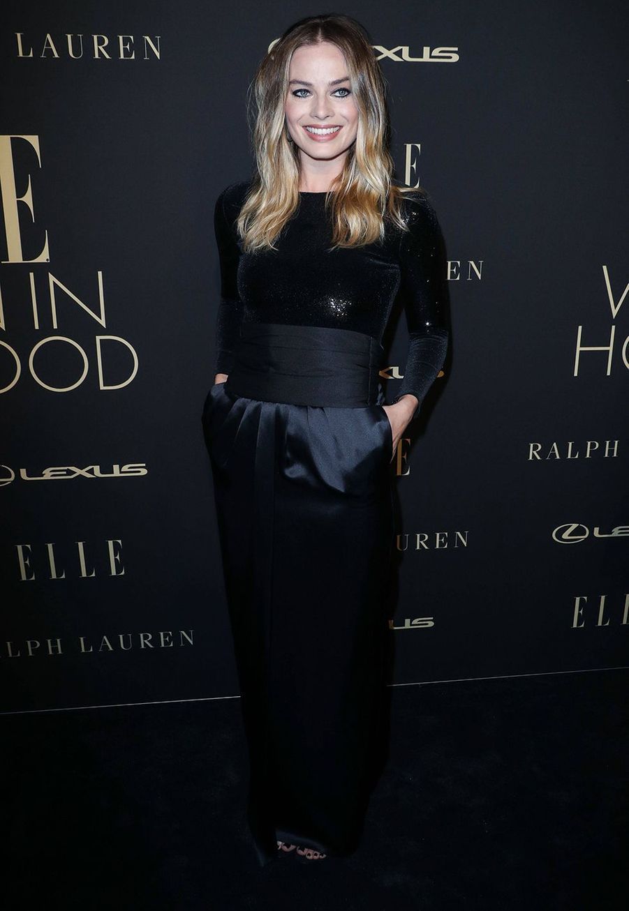 Margot Robbie à la soirée «Elle Women In Hollywood» à Beverly Hills le 14 octobre 2019