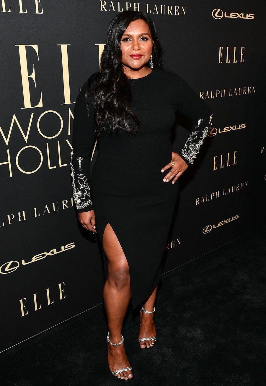 Mindy Kaling à la soirée «Elle Women In Hollywood» à Beverly Hills le 14 octobre 2019