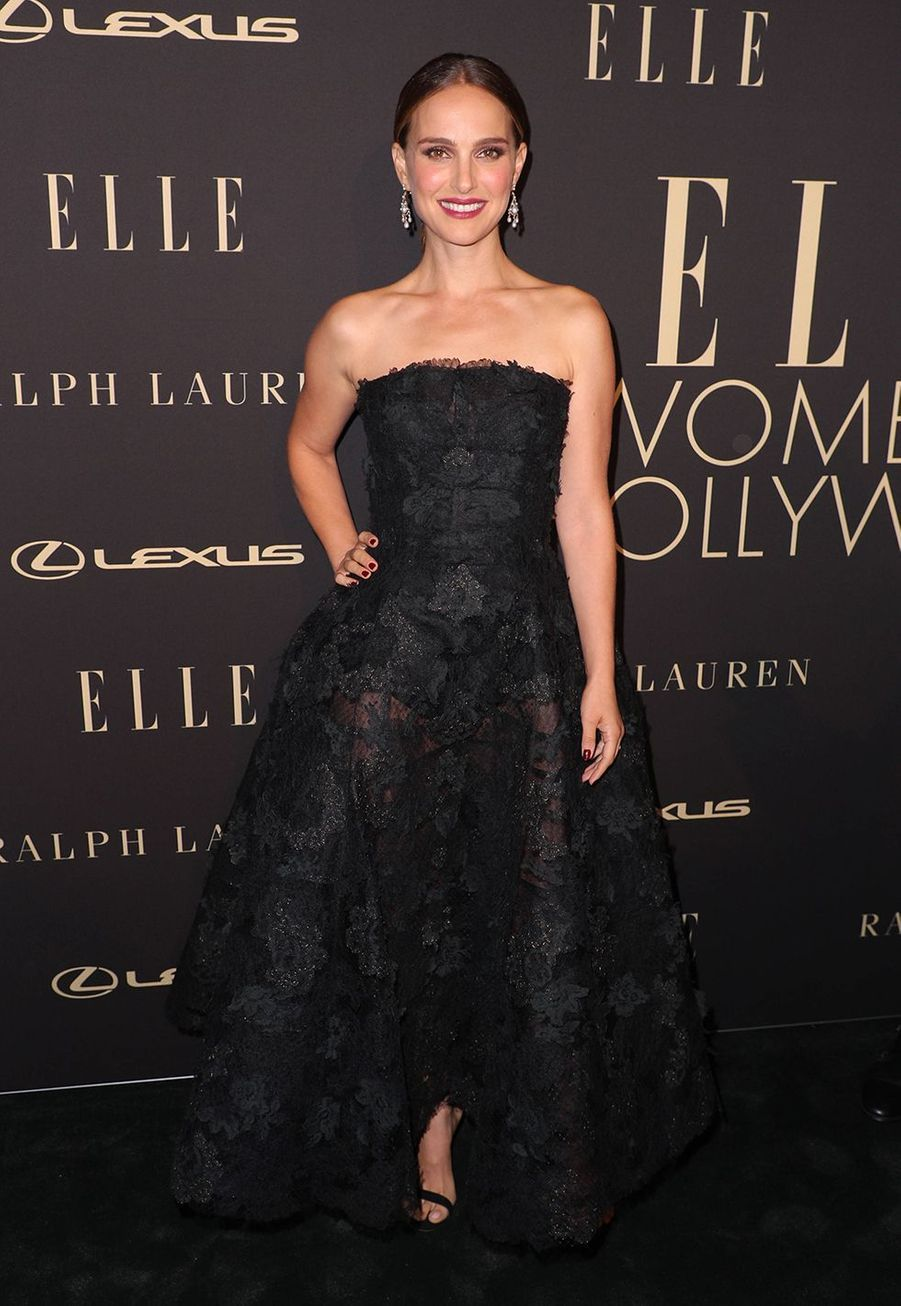 Natalie Portman à la soirée «Elle Women In Hollywood» à Beverly Hills le 14 octobre 2019