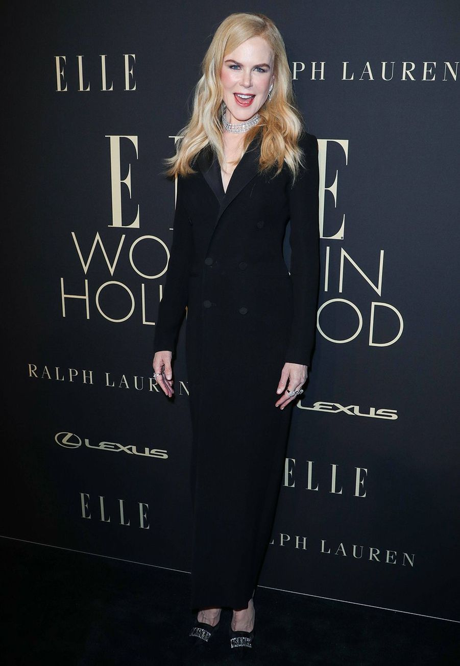 Nicole Kidman à la soirée «Elle Women In Hollywood» à Beverly Hills le 14 octobre 2019