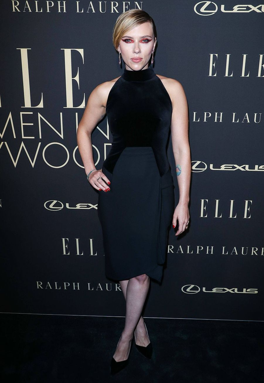 Scarlett Johansson à la soirée «Elle Women In Hollywood» à Beverly Hills le 14 octobre 2019