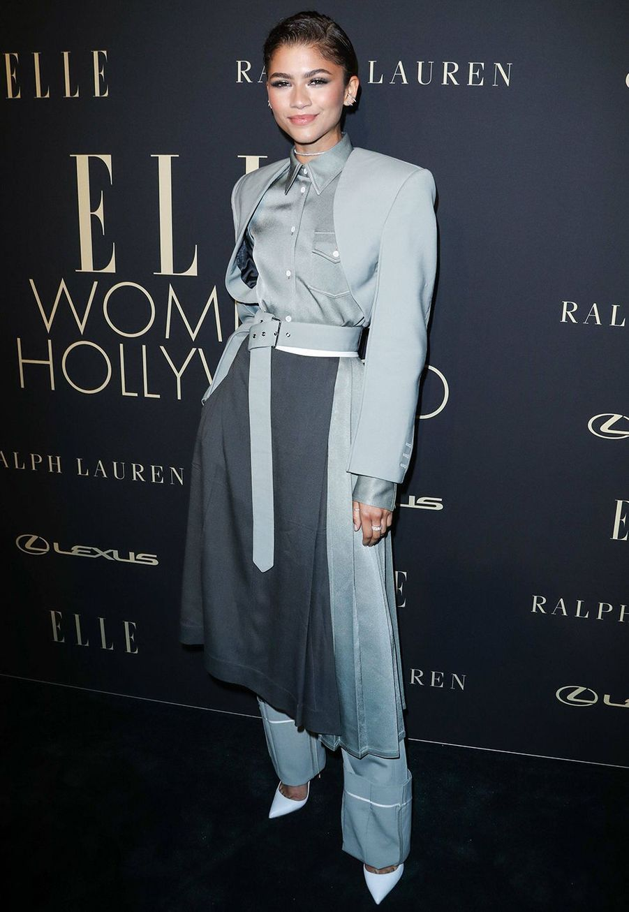 Zendaya à la soirée «Elle Women In Hollywood» à Beverly Hills le 14 octobre 2019