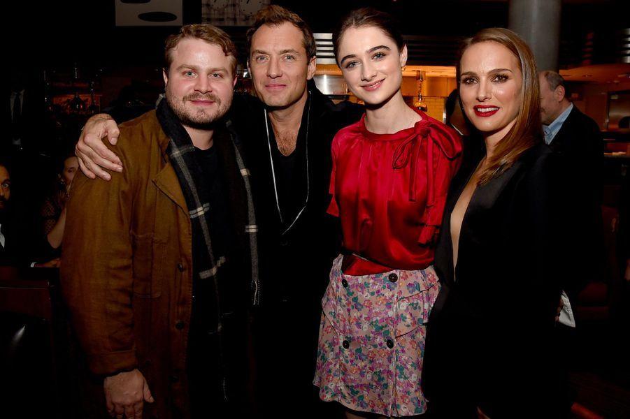Brady Corbet, Jude Law, Raffey Cassidy et Natalie Portman