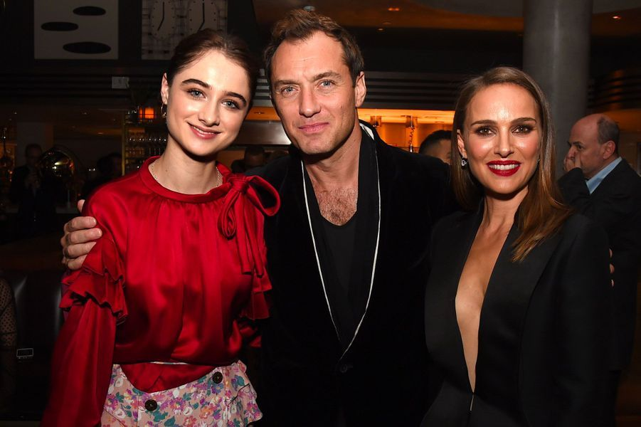 Raffey Cassidy, Jude Law et Natalie Portman