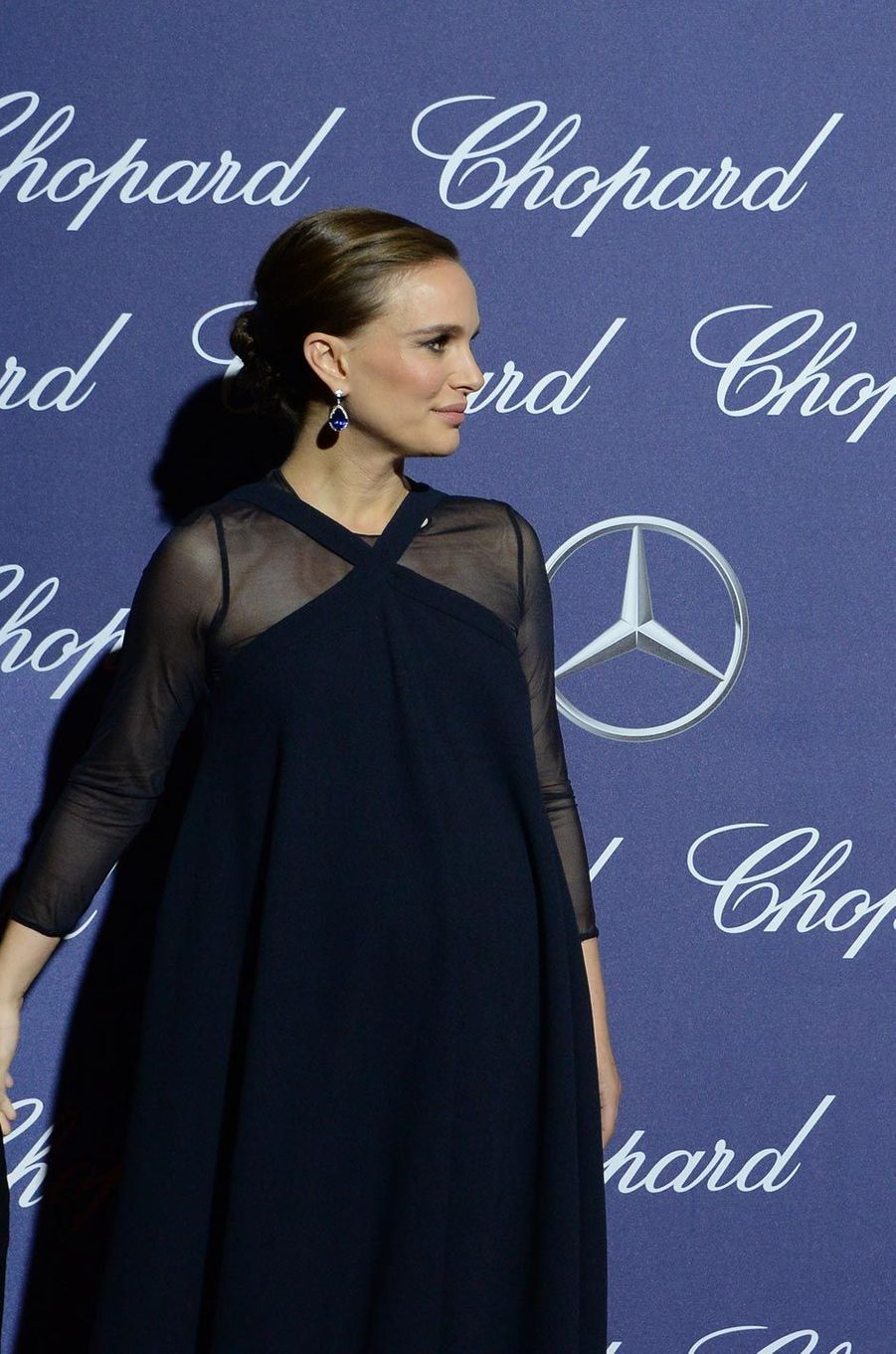 Natalie Portman à Palm Springs le 2 janvier 2017.