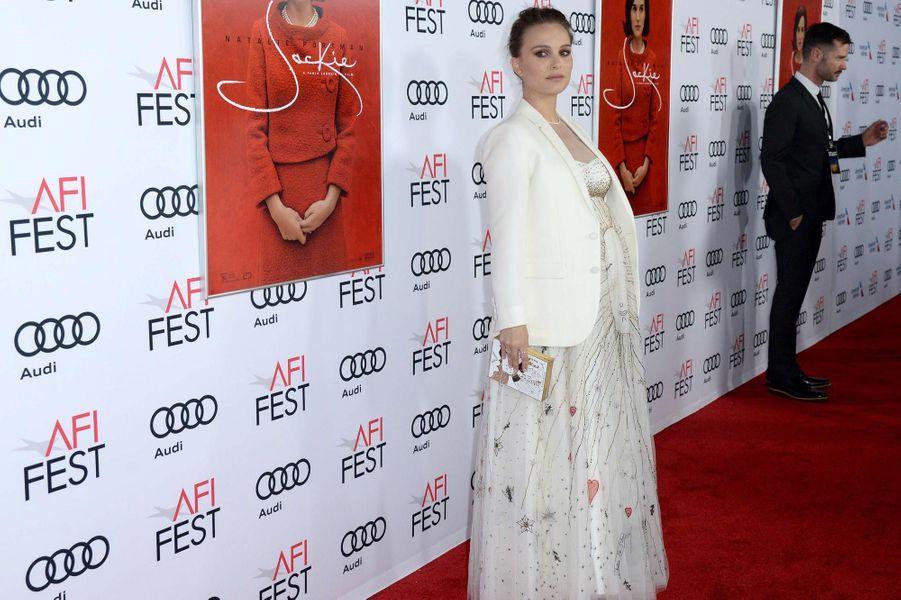 """Natalie Portman à la première du film """"Jackie"""" à Los Angeles en novembre 2016."""