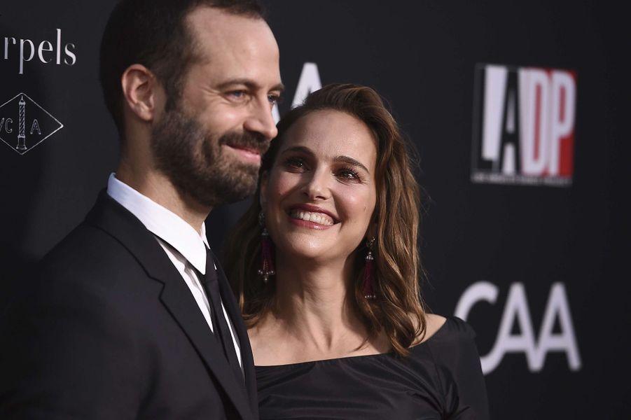 Benjamin Millepied et Natalie Portman sur le red carpet duL.A Dance Project, à Los Angeles, le 7 octobre 2017.