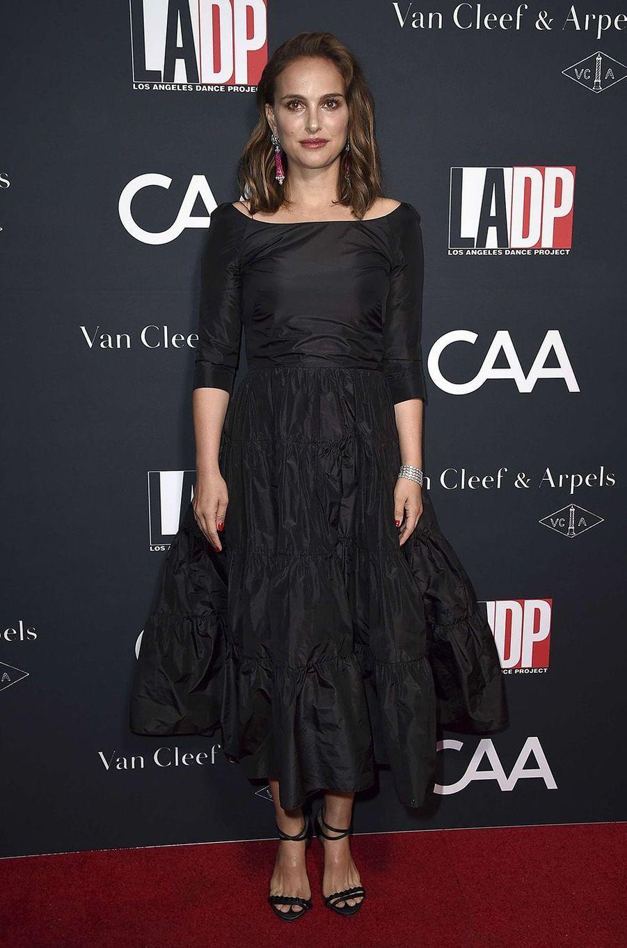 Natalie Portman sur le red carpet duL.A Dance Project, à Los Angeles, le 7 octobre 2017.