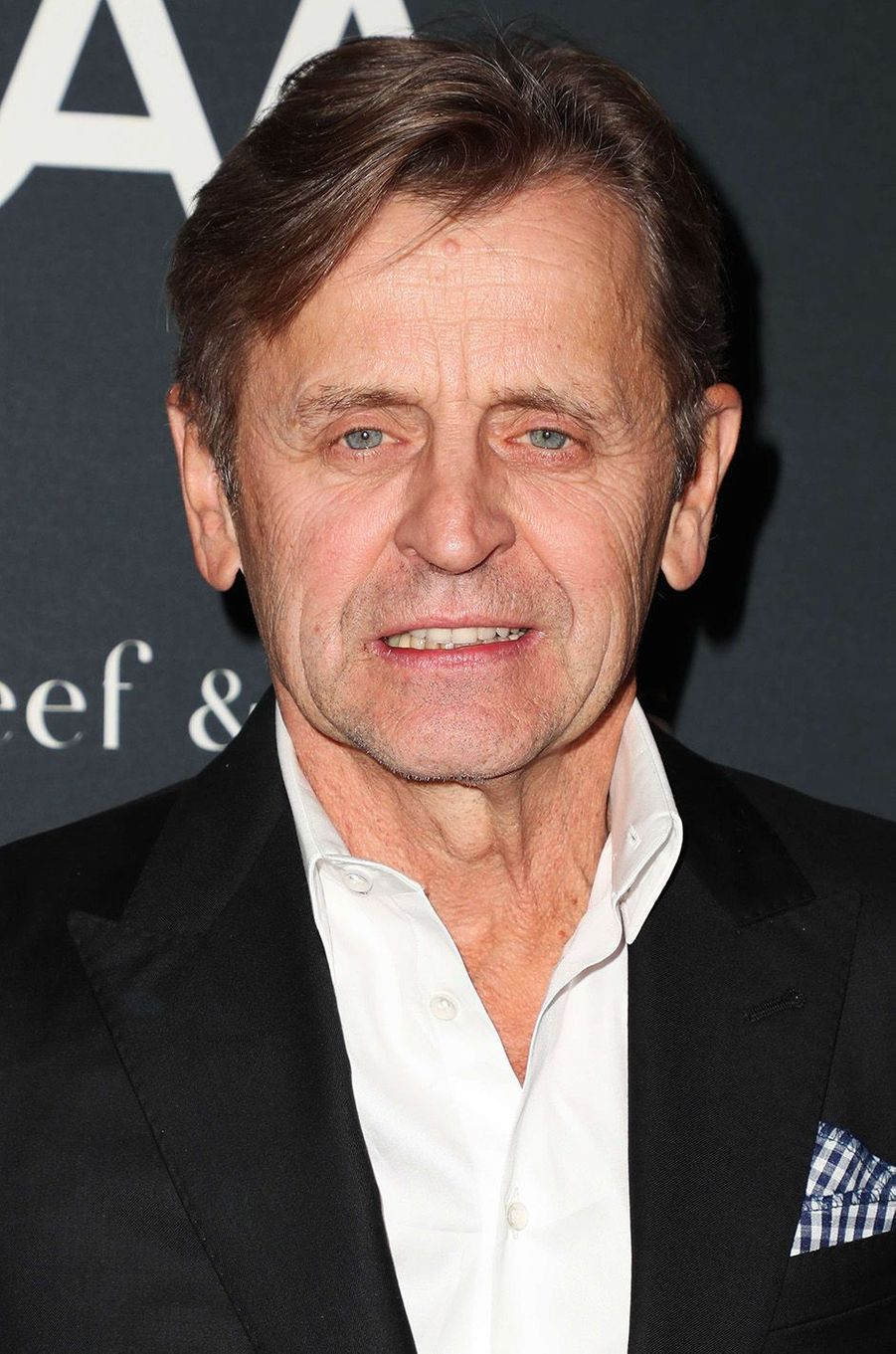 L'immense Mikhail Baryshnikov sur le red carpet du L.A Dance Project, à Los Angeles, le 7 octobre 2017.