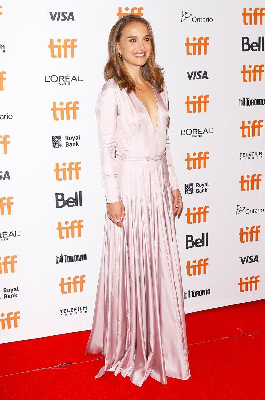 """Natalie Portman présente """"Vox Lux"""", de Brady Corbet, au festival de Toronto, vendredi 7 septembre"""