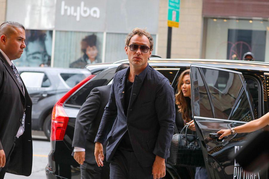 Jude Law au festival de Toronto, vendredi 7 septembre