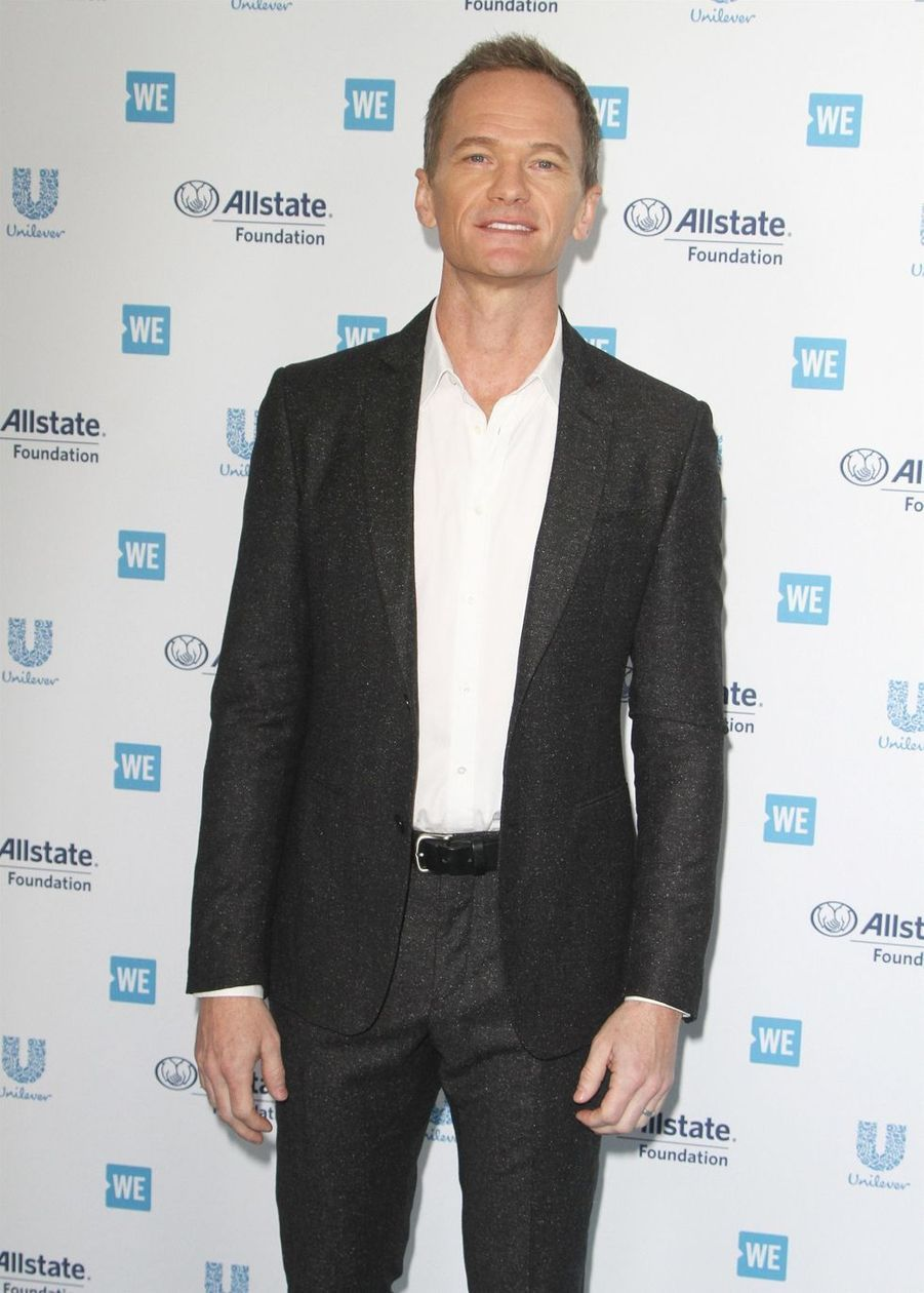 "Neil Patrick Harris à la soirée ""WE Day"" à Los Angeles, le 25 avril 2019"
