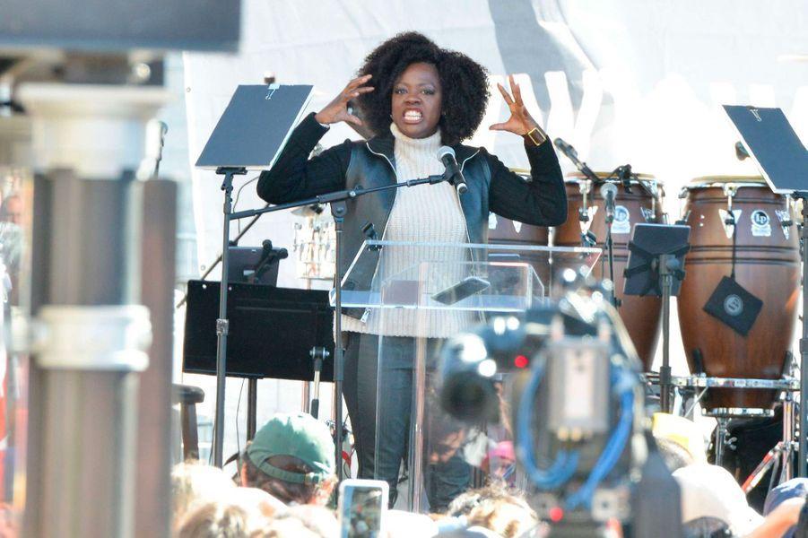 Viola Davis à la Marche des Femmes