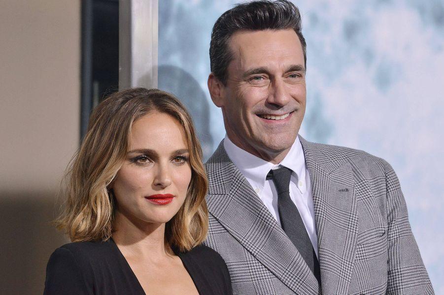 Natalie Portman et Jon Hammà l'avant-première du film «Lucy in the Sky» à Los Angeles le 25 septembre 2019