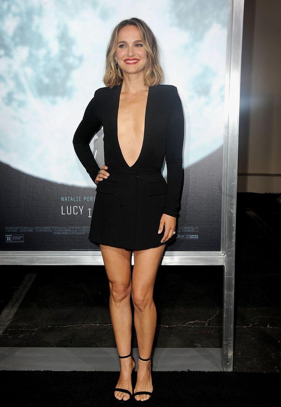 Natalie Portman à l'avant-première du film «Lucy in the Sky» à Los Angeles le 25 septembre 2019