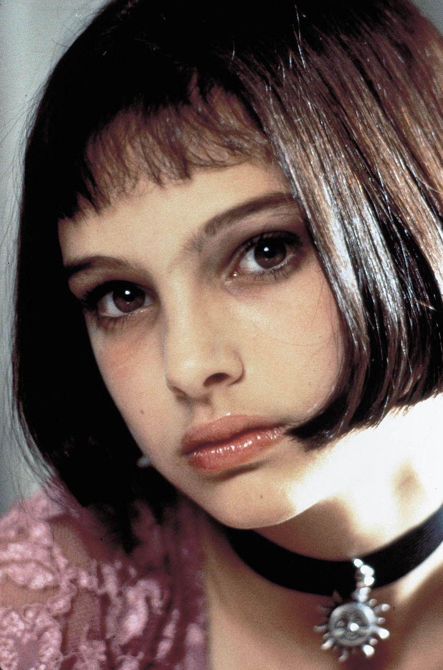 "Natalie Portman dans ""Leon"" en 1994."