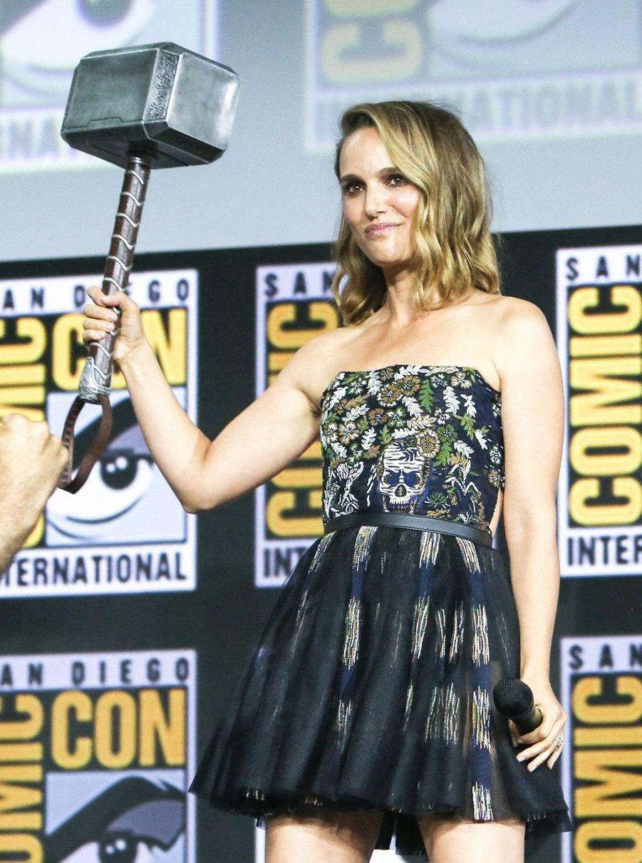 Natalie Portman reprendra sa rôle de Jane Foster dans le quatrième volet de la saga Thor, intitulé «Thor : Love and Thunder».